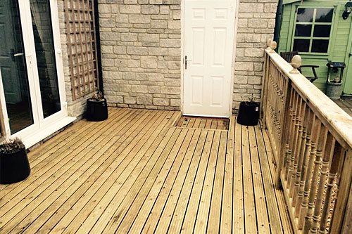 Decking & Fencing Cleaning